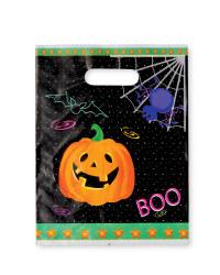Pumpkin Loot Bags 12-Pack