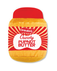 Pupnut Butter Plush Snacks Dog Toy