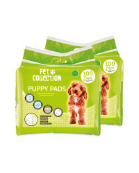 Puppy Pads 2 x 100 Pack