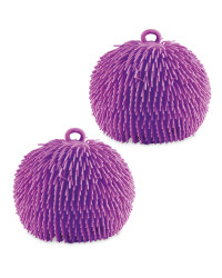 Purple Giant Jiggly Balls 2 Pack
