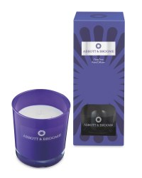 Purple Reed & Candle Set