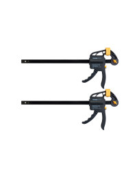 Quick Ratcheting Bar Clamps 2 Pack