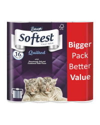 Quilted Toilet Tissue 16 Pack