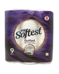 Quilted Toilet Tissue