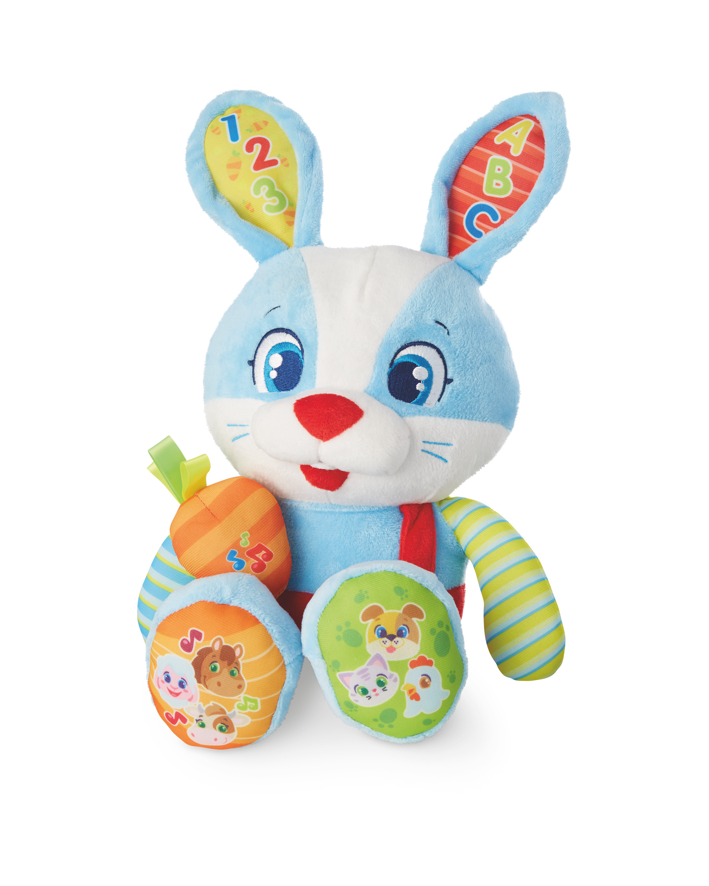 Plush Rabbit Interactive Baby Toy - ALDI UK