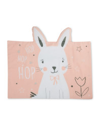 Rabbit Shaped Pillowcase