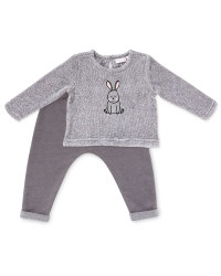 Rabbit Sweatshirt and Joggers