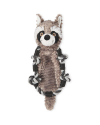 Raccoon Knotted Animal Dog Toy