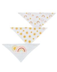 Rainbow Dribble Bibs 3 Pack