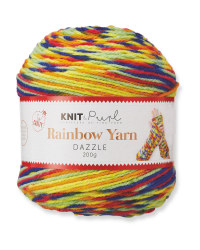 Rainbow Dazzle Yarn