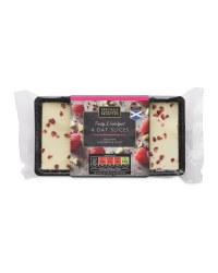 Raspberry & Cacao Oat Slices