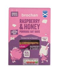 Raspberry & Honey Porridge Bars