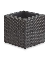 Gardenline Cubed Planter - Black