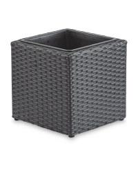 Gardenline Cubed Planter - Grey