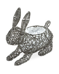 Gardenline Rabbit Planter - Grey