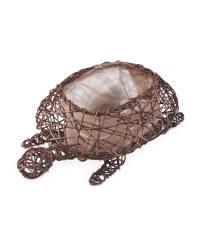 Chestnut Tortoise Planter