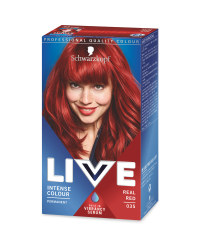 Real Red Live Hair Colour