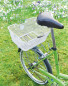 Rear Bicycle Basket - White