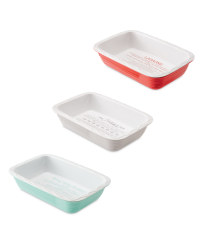 Rectangle Bakeware with Recipe Print