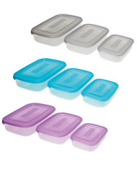 Rectangle Storage Containers 3 Pack