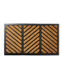 Rectangle Zig Zag Coir Mat