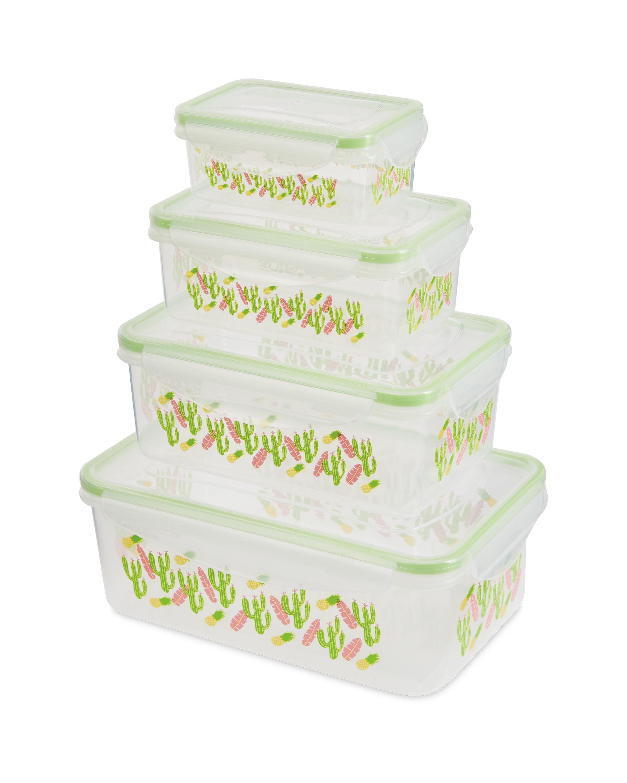 Rectangle Cactus Food Storage