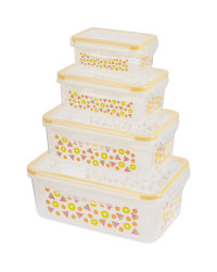 Rectangle Fruit Food Storage