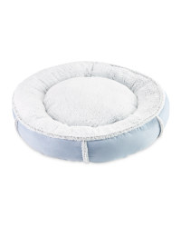 Recycled Donut Pet Bed - Blue