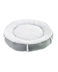 Recycled Donut Pet Bed - Grey
