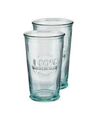 Recycled Glasses 2 Pack