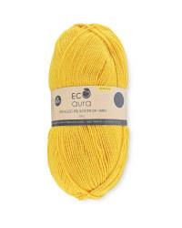 Golden Haze Recycled Yarn