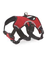 Red Adventure Dog Harness