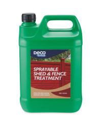 Red Cedar Sprayble Fence Treatment