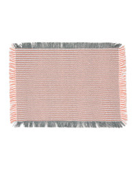 Red Cotton Table Placemats