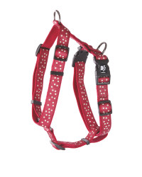 Red Dots Standard Pet Harness
