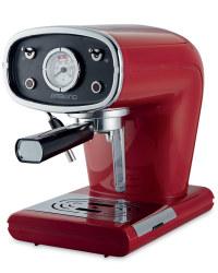 Red Espresso Maker