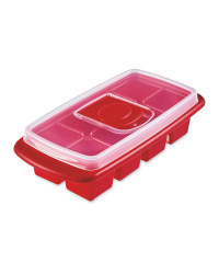 Red Extra Large Ice Cube Tray