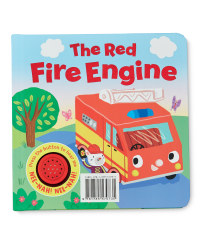 Red Fire Engine Magic Sounds Book