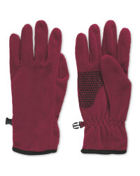 Crane Red Gloves