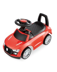Little Town Red Toddler Ride-On Car