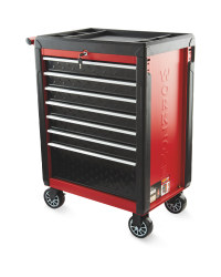 Workzone Red Tool Cabinet