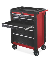 Red/Black Workzone Tool Cabinet