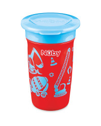Red/Blue Nuby Maxi 360° Sippy Cup