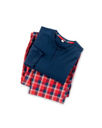 Red/Navy Men's Pyjamas