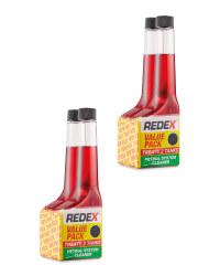 Redex 4 Pack Petrol Fuel Cleaner