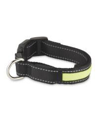 Reflective Pet Collar - Black