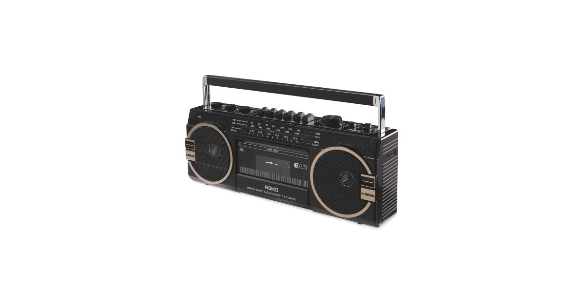 851aac77971 Reka Boombox Cassette Player - ALDI UK