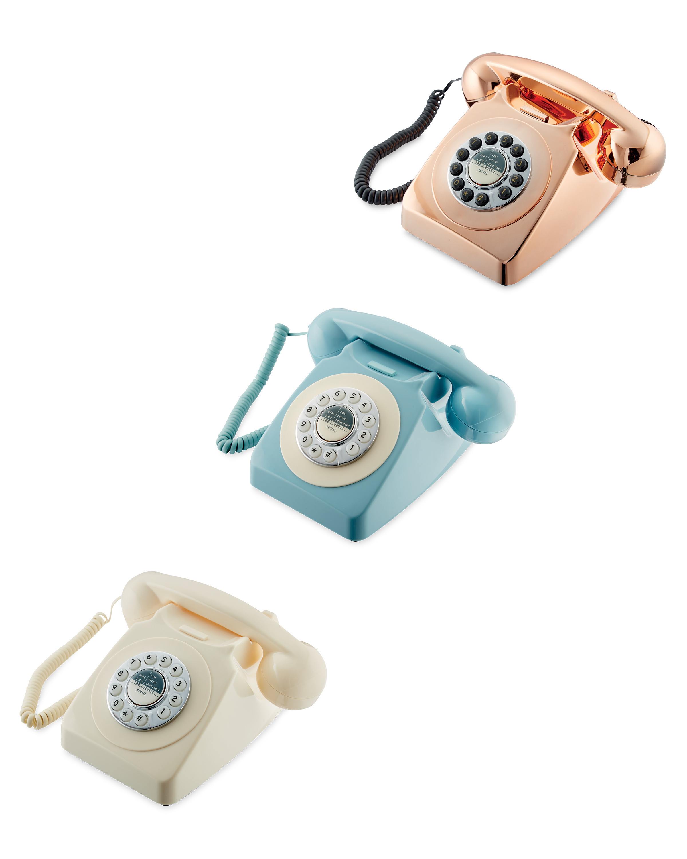 Reka Retro Corded Home Phone