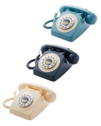 Reka Retro Corded Home Phone