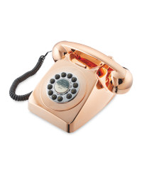 Reka Retro Corded Home Phone - Bronze